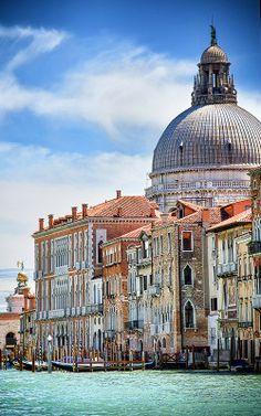 Venice - Santa Maria della Salute , Italy