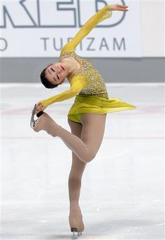 FILE - In this Dec. 6, 2013, file photo, South Korea's Kim Yu-Na performs during the short program at the Golden Spin figure skating competition in Zagreb, Croatia. (AP Photo/Darko Bandic, File) ◆AP PHOTO|5 Women To Know Olympics http://bigstory.ap.org/photo/5-women-know-olympics #Kim_Yuna #Kim_Yu_na #Yuna_Kim