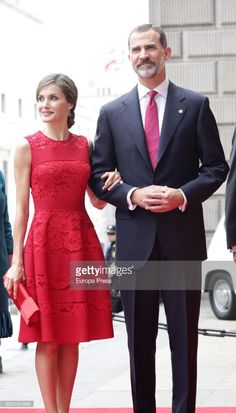 King Felipe of Spain and Queen Letizia of Spain attend the 40th legislative elections anniversary at Spanish parliament on June 28, 2017 in Madrid, Spain.  (Photo by Europa Press/Europa Press via Getty Images)