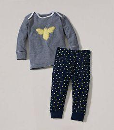 Spring Bee Long Sleeved PJ Set - Burts Bees Baby