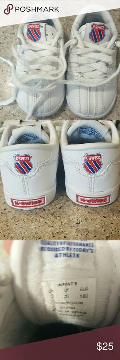 Infant K-Swiss EUC infant size 3 K-Swiss sneakers K-Swiss Shoes Sneakers
