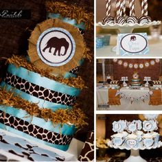 Hostess with the Mostess® - Safari Baby Shower - It's A Boy