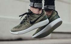 Nike wprowadza na rynek nowe buty Nike LunarEpic Flyknit Low 2, czyli odnowioną wersję modelu zeszłego roku. Zobacz kolorystykę Rough Green.