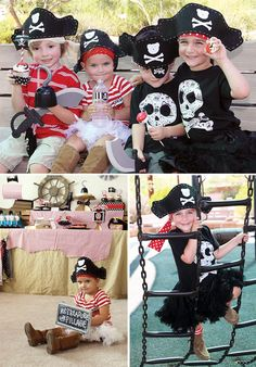 "great costumes - ""Got Treasure, Will Pillage"" :)"