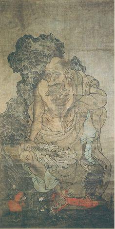 Guanxiu (貫休) , 《十六罗汉图》, 五代 贯休