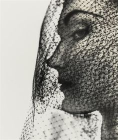 Veiled Hat (Evelyn Tripp), New York by Irving Penn on artnet Auctions