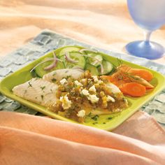 With just 4 ingredients you can create this enjoyable, kicked-up fish dish topped with melted cheese.