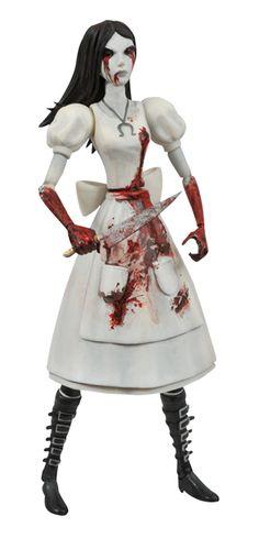 Alice Madness Returns Select Hysteria Alice Px Action Figure  pre-order