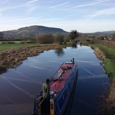 Narrowboat on the Macclesfield Canal Narrowboat, Small Space Living, Landscape Photography, This Is Us, Ted, Clouds, Mountains, Travel, Life