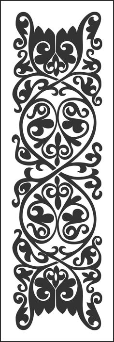 Stencil Patterns, Stencil Designs, Embroidery Motifs, Embroidery Designs, Jaali Design, Cnc Projects, Scroll Saw Patterns, Leather Pattern, Screen Design