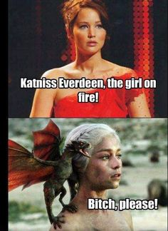 Hunger Games vs Game of Thrones