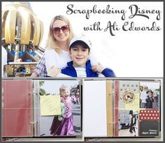 Scrapbooking Disney with Ali Edwards and team member, Stephanie Haining, join Steph to talk about Ali's process for scrapbooking Disney. Ali shares her history with Disney, her processing for documenting different trips and how it has changed over the years. Ali is passionate about telling life stories through photos and words. She is an author, teacher, paper/digital scrapbook product designer, and recently contributed to a segment in one of Oprah's Lifeclasses.