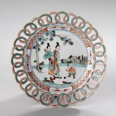 Porcelain made in the period c. 1680–1725, during the reign of Emperor Kangxi (1662–1722)
