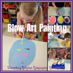 blow art painting eggs