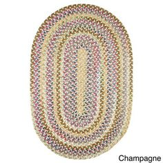 Charisma Indoor/Outdoor Oval Braided Rug by Rhody Rug (7' x 9') - Free Shipping Today - Overstock.com - 17530624 - Mobile