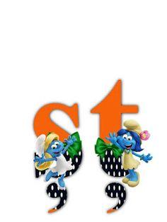 S.T.R.U.M.F.: Litere cu strumfi 2