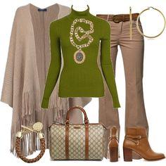 Ponchos y Capas by outfits-de-moda2