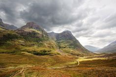 'Scotch', Scotland, Glen Coe Valley / Image via: WanderingtheWorld #scotland