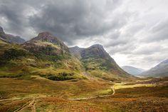 'Scotch', Scotland, Glen Coe Valley / Image via: WanderingtheWorld #scotland