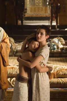 Caesarion and Cleopatra - Max Baldry and Lyndsey Marshal in Rome, set between 49 BC and 31 BC (TV series Rome Tv Series, Hbo Series, Series Movies, In Ancient Times, Ancient Rome, Rome Costume, Costumes, Rome Hbo, Actor Picture