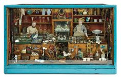 Bread and Roses - Auction - July 26, 2016: Lot #118 Outstanding 19th Century Toy Shop Crammed with Rare Miniature Toys and Delights