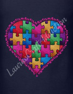 Autism Heart svg Cut Files for Silhouette and Cricut svg dxf jpg png pdf Studio V3 formats included.  Show your heart! Select from multiple choices for Mom, Dad, and Autism lettering.  Included in the zip download are SVG, PDF, PNG, JPG and Studio V3 formats.  Registration marks are included to help with alignment.  I personally have a Silhouette Cameo, and have limited knowledge of Design Space, and other cutting software, but will help in any way I can. Please feel free to contact me with…
