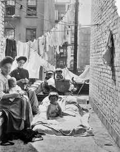 New York Tenement - 1910 - Lewis Hine