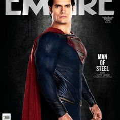 #ManOfSteel #Superman #DC #Comics #Movies #Superheroes #HenryCavill #Empire #ZackSnyder