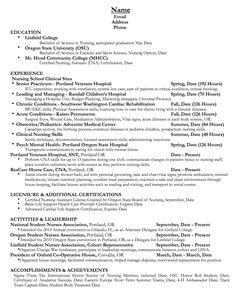 Professional Associate Athletic Director Templates to Showcase     VisualCV oncology nurse resume sample   http   exampleresumecv org oncology nurse