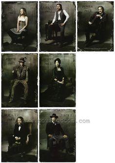 Cast of DeadWood  Timothy Olyphant, Ian McShane, Molly Parker, Jim Beaver, Brad Dourif, Keith Carradine