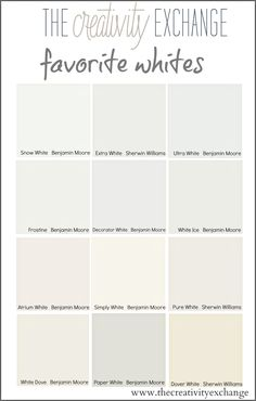 Choosing the perfect white is a lot easier with our shortcuts for how to zone in instantly on the best white paint color for your wall, cabinets or trim.