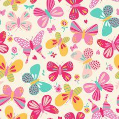 jardim com borboleta