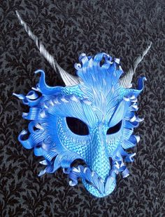 Teal Frost Dragon by *merimask on deviantART