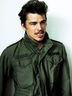 Josh Hartnett. You are really fantastic, talented, and lovely. But seriously-- smoking is disgusting.
