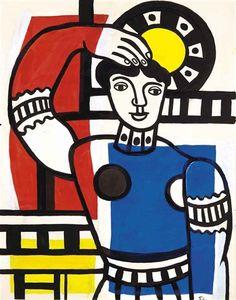 Fernand Léger, Danseuse au tambourin