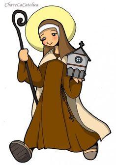 Catholic Kids, Catholic Saints, Roman Catholic, St Theresa Of Avila, Ste Therese, Jesus Cartoon, Jesus E Maria, Christian Pictures, Holy Rosary