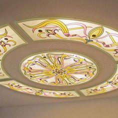 Вітражні стелі – Вітражі від Півнич Скло Army Tattoos, Custom Windows, Glass Ceiling, Glass Domes, Sheriff, Ceiling Design, Glass Design, Contemporary, Modern
