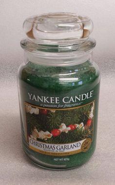 Christmas garland new Yankee candle