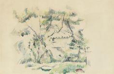 Paul Cézanne ~ The Drawings /Watercolours | Tutt'Art@ | Pittura * Scultura * Poesia * Musica |