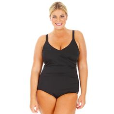 Chlorine Resistant Shirred Swimsuit