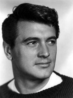 Rock Hudson, c.1950s - He was a handsome man.