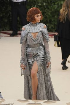 Zendaya as Joan of Arc for Met Gala 2018 (Famous... - AISHWARYARAII