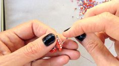 MRAW Zigged Band from Contemporary Geometric Beadwork, by Kate McKinnon: High Definition video