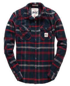Chemise Milled Flannel #MensFashionFlannel