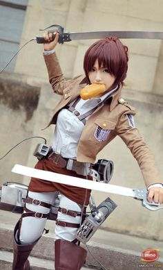 Sasha. (Attack on Titan).