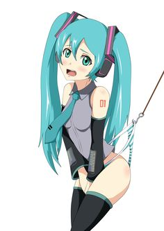 Miku wedgie by IlhamBritannia on DeviantArt