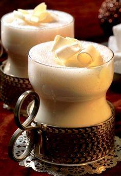 ☕ White chocolate #Latte #coffee
