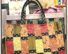 Pattern - Sausalito Tote Bag Sewing Pattern by A Quilter's Dream