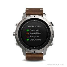 Reloj Garmin Fénix Chronos Cuero, un reloj deportivo multifunción.  #relojesdeportivos #deportes #relojes #SmartWatch #moda #hombre #mujer
