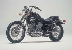 Yamaha Virago 535 #5 (first ever bike bought from Tousley)